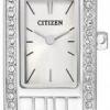 นาฬิกาผู้หญิง Citizen รุ่น EZ6350-53A, Quartz Swarovski Crystal Elegant