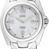 นาฬิกาข้อมือผู้หญิง Citizen Eco-Drive รุ่น EW0910-52B, 100m Super Titanium Sapphire Sports Watch