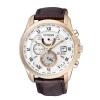 นาฬิกาข้อมือผู้ชาย Citizen Eco-Drive รุ่น AT9082-01A, Global Radio Controlled AT Sapphire Leather