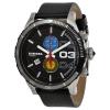 นาฬิกาผู้ชาย Diesel รุ่น DZ4331, Double Down Black Dial Leather