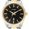 นาฬิกาผู้ชาย Citizen รุ่น BI1034-52E, Two Tone Stainless Steel Bracelet