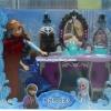 ตุ๊กตา Fozen พร้อมโต๊ะแต่งตัวและเก้าอี้