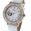 นาฬิกาผู้หญิง Orient รุ่น FDB0B001W0, Semi Skeleton Open Heart Automatic