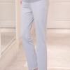 กางเกงทำงานคนท้อง ทรงสวย มีผ้าพยุงครรภ์และสายปรับขนาด สีเทา M,L,XL,XXL