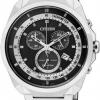 นาฬิกาข้อมือผู้ชาย Citizen Eco-Drive รุ่น AT2150-51E, Chronograph 50m Tachymeter Sports Watch