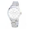 นาฬิกาผู้หญิง Citizen รุ่น ED8140-57A, QUARTZ Analog Silver Watch