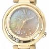 นาฬิกาข้อมือผู้หญิง Citizen Eco-Drive รุ่น EM0325-55P, Genuine Diamonds Mother Of Pearl Sapphire