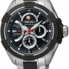 นาฬิกาข้อมือผู้ชาย Seiko รุ่น SRX009P1, Velatura Sapphire Kinetic Moon Phase Sports Watch