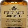 Solgar Folic Acid 400 mcg 250 Tablets