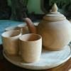 ชุดกาน้ำชา ไม้เทพทาโร