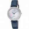นาฬิกาผู้หญิง Citizen Eco-Drive รุ่น EX1480-15D, Swarovski Sapphire