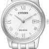 นาฬิกาข้อมือผู้หญิง Citizen Eco-Drive รุ่น EW2310-59A, Japan Sapphire Elegant