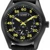 นาฬิกาผู้ชาย Citizen Eco-Drive รุ่น BV1085-14E, Military Black Yellow