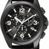 นาฬิกาข้อมือผู้ชาย Citizen Eco-Drive รุ่น AS4035-04E, Promaster Radio Controlled Super Titanium Sapphire