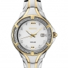 นาฬิกาผู้หญิง Seiko รุ่น SUT372, 28 Diamonds Mother-Of-Pearl Dial Solar Two-Tone Women's Watch