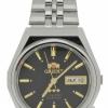 นาฬิกาผู้ชาย Orient รุ่น SAB06006B8, 3 Star Crystal Automatic 21 Jewels Black Dial