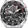 นาฬิกาข้อมือผู้ชาย Citizen Eco-Drive รุ่น JW0124-53E, Promaster World Time Sapphire Chronograph Racing Watch
