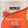 Now Foods Pantothenic Acid 500 mg 250 Capsules