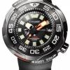 นาฬิกาข้อมือผู้ชาย Citizen Eco-Drive รุ่น BN7020-09E, Promaster Marine 1000m Super Titanium Sapphire Men's Watch