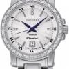 นาฬิกาข้อมือผู้หญิง Seiko รุ่น SXDG57P1, Premier Sapphire Diamonds Elegant