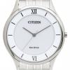 นาฬิกาผู้ชาย Citizen Eco-Drive รุ่น AR0071-59A, Stiletto Super Thin