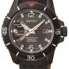 นาฬิกาข้อมือผู้ชาย Seiko รุ่น SRG021P1, Sportura Kinetic Direct Drive Leather Sapphire