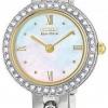 นาฬิกาข้อมือผู้หญิง Citizen Eco-Drive รุ่น EW8464-52D, Silhouette Swarvoski Ladies Bracelet Elegant Watch