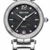 นาฬิกาผู้หญิง Rhythm รุ่น L1504S02, Diamond Sapphire L1504S 02, L1504S-02
