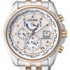 นาฬิกาข้อมือผู้ชาย Citizen Eco-Drive รุ่น AT9035-51A, Global Radio Controlled AT Sapphire