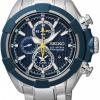 นาฬิกาผู้ชาย Seiko รุ่น SNAF41P1, Velatura Quartz Chronograph Sapphire Sports