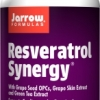 Jarrow Formulas Resveratrol Synergy 60 Tablets
