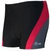 ชุดว่ายน้ำคนอ้วนชาย พร้อมส่ง :กางเกงว่ายน้ำชายสีดำ แต่งทางสีแดงมีหมวกแบบสวยจ้า:เอว32-40นิ้ว สะโพก40-48นิ้วจ้า