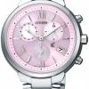 นาฬิกาข้อมือผู้หญิง Citizen Eco-Drive รุ่น FB1330-55W, XC Chronograph Titanium Sapphire Japan