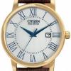 นาฬิกาผู้ชาย Citizen Eco-Drive รุ่น BM6752-02A, Elegant Leather