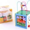 กล่องกิจกรรมไม้ 5 in 1 Wooden Toys Box