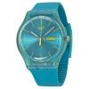 นาฬิกา ชาย-หญิง Swatch รุ่น SUOL700, Turquoise Rebel