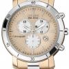 นาฬิกาข้อมือผู้หญิง Citizen Eco-Drive รุ่น FB1346-55Q, AML Chronograph Dual Tone Elegant Watch