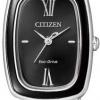 นาฬิกาข้อมือผู้หญิง Citizen Eco-Drive รุ่น EM0007-51E, Sapphire Japan Elegant