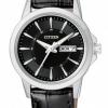 นาฬิกาผู้หญิง Citizen รุ่น EQ0601-03E, Classic Leather Watch