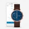 นาฬิกาผู้ชาย Skagen รุ่น SKT1103, Hagen Connected Hybrid Smartwatch Dark Brown Leather Men's Watch