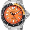 นาฬิกาผู้ชาย Seiko รุ่น SRPC07, Automatic Prospex Samurai Divers Orange Dial