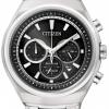 นาฬิกาข้อมือผู้ชาย Citizen Eco-Drive รุ่น CA4020-54E, Super Titanium 100m Sapphire Chronograph