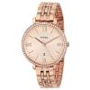 นาฬิกาผู้หญิง Fossil รุ่น ES3546, Jacqueline Rose Gold Crystals Women's Watch
