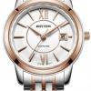 นาฬิกาผู้หญิง Rhythm รุ่น G1304S05, Sapphire General Collection Dual Tone G1304S 05, G1304S-05