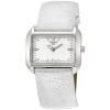 นาฬิกาผู้หญิง Tissot รุ่น T0233091603102, T-Wave White Dial Silver Leather Ladies Watch