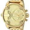 นาฬิกาผู้ชาย Diesel รุ่น DZ7287, Little Daddy Chronograph Gold Tone