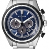 นาฬิกาผู้ชาย Citizen Eco-Drive รุ่น CA4241-55L, Super Titanium 100m Sapphire Chronograph Japan