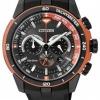 นาฬิกาข้อมือผู้ชาย Citizen Eco-Drive รุ่น CA4154-07E, Chronograph 100m Tachymeter Sports Men's Watch