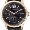 นาฬิกาข้อมือผู้ชาย Citizen Eco-Drive รุ่น BR0076-07E, Sapphire Retrograde Sapphire Japan Elegant