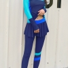 ชุดว่ายน้ำคนอ้วน แบบสปอร์ตพร้อมส่ง :ชุดว่ายน้ำไซส์ใหญ่สีน้ำเงินฟ้าแขนขายาว กางเกงขายาวแต่งกระโปรงระบาย สีสันสดใสแบบเก๋น่ารักมากๆจ้า:มีSize 3XL,6XLรายละเอียดไซส์คลิกเลยจ้า